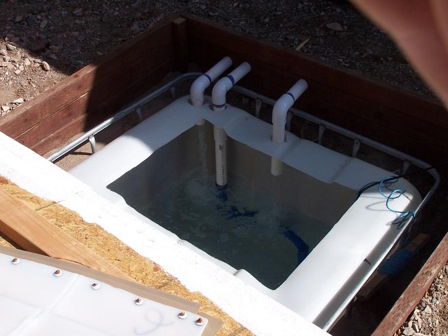 Geothermal Nutrient Reservoir Cooling System